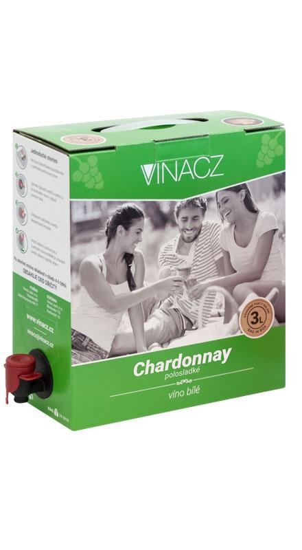 Chardonnay polosladké (BiB 3l)
