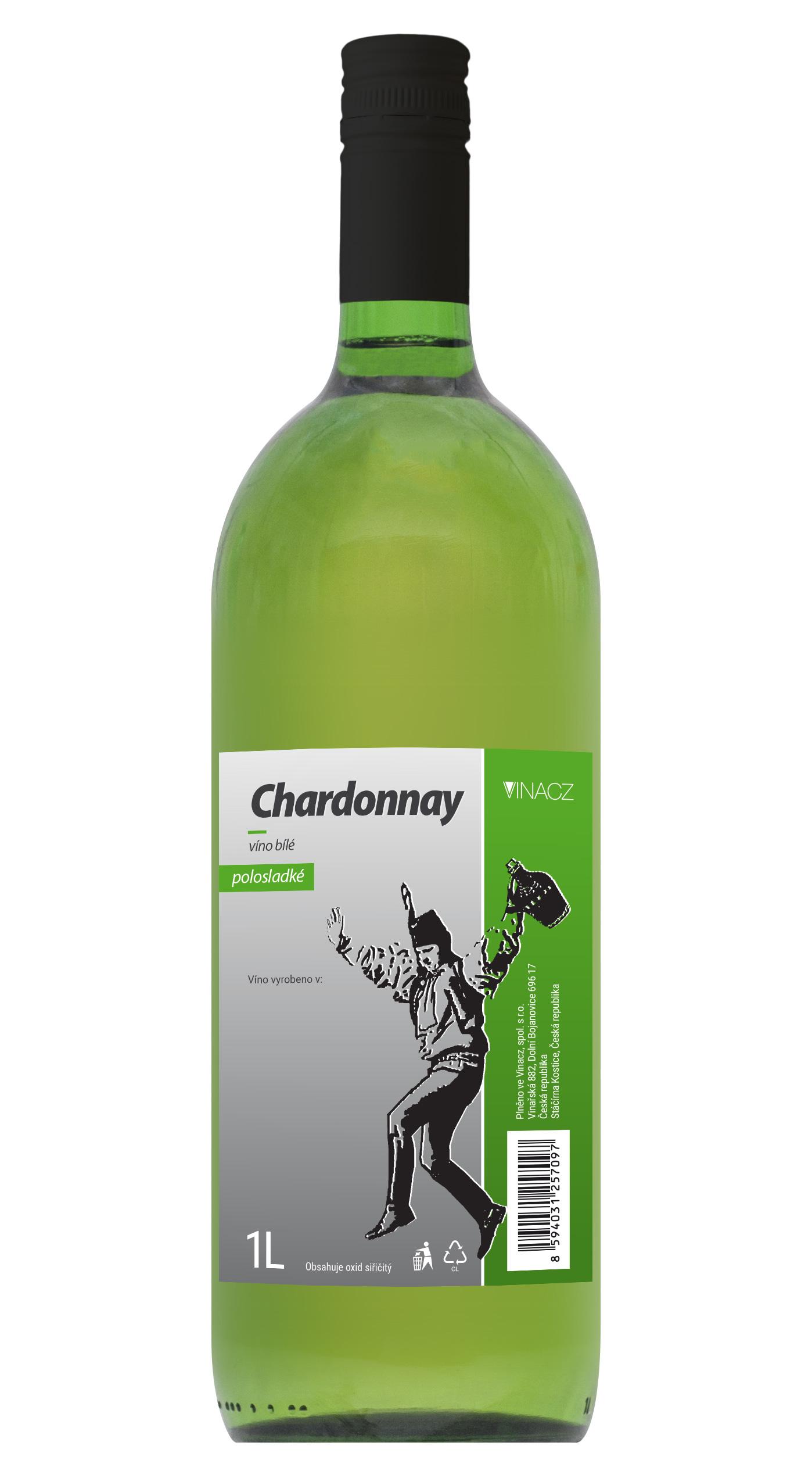 Chardonnay, polosladké